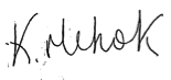 Kate-Mehok-Signature